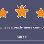 Our home is already more comfortable! - Sally P