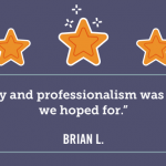 The quality and professionalism was everything we hoped for. Brain L
