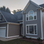 A Home's Siding in Raleigh, NC